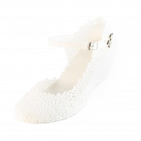 Zellie Vintage White