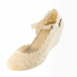 Zellie Vintage Wedge Beige